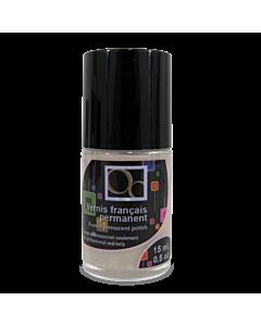 Matte nail polish grey