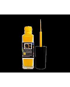 Vernis liner jaune nail art