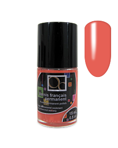 Coral Pink - French Permanent Polish 15ml