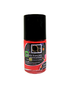 Fireman red French permanent polish