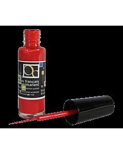 Vernis Français Permanent rouge pinceau fin