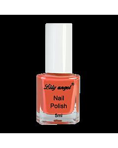 Orange Stamping Polish