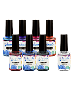 Watercolor Background Ink Collection (8pcs)
