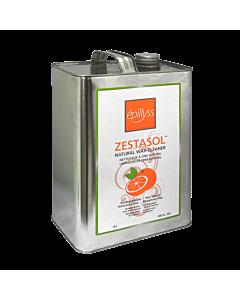 Zestasol Nettoyeur à Cire Naturel aux Agrumes 4 Litres