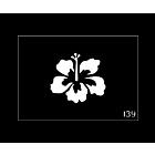 Pochoir tattoo temporaire Fleurs #139