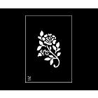 tattoo flower stencil rose
