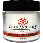 Glam and Glits blanc pailleté 372 White Sand