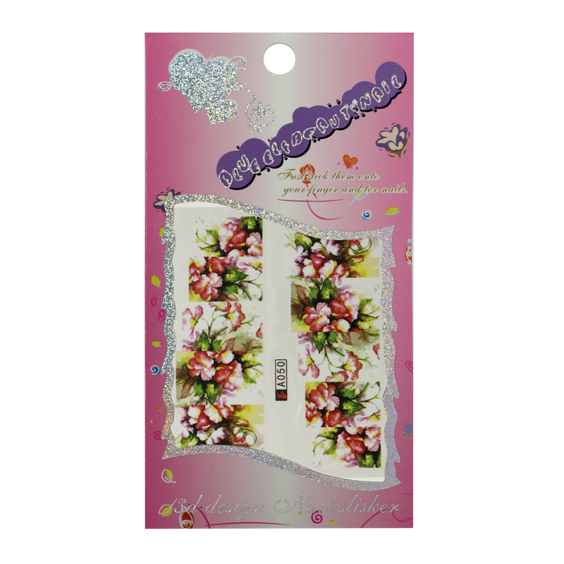 Water Decals - Flowers A050