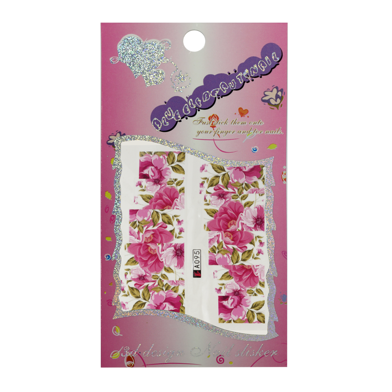 Water Decals - Flowers A095