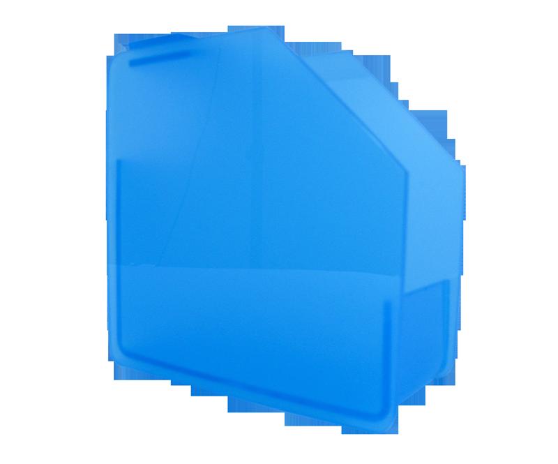 Distributeur de Formes en Acrylique Bleu