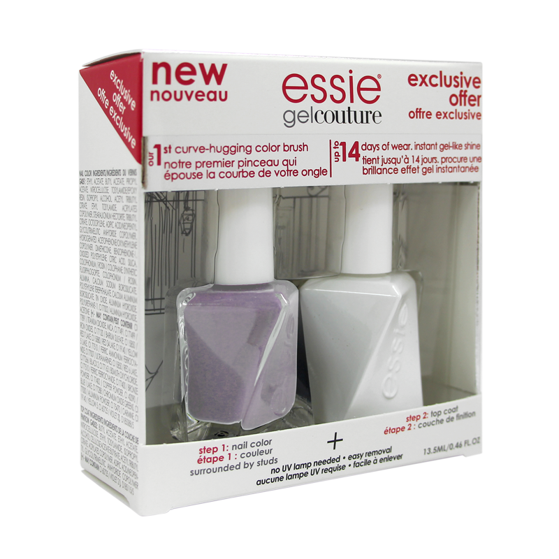 Essie Gel Couture Duo Color + Top Style in Excess