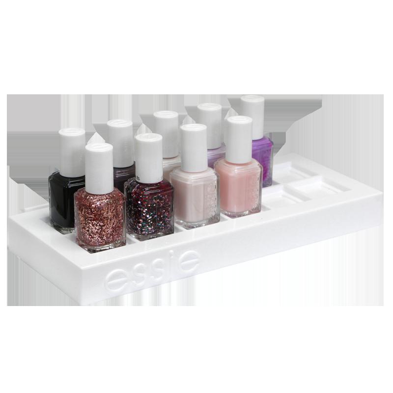 Essie Présentoir de Table pour 12 bouteilles 24.5x10.8x2.5cm (vide)