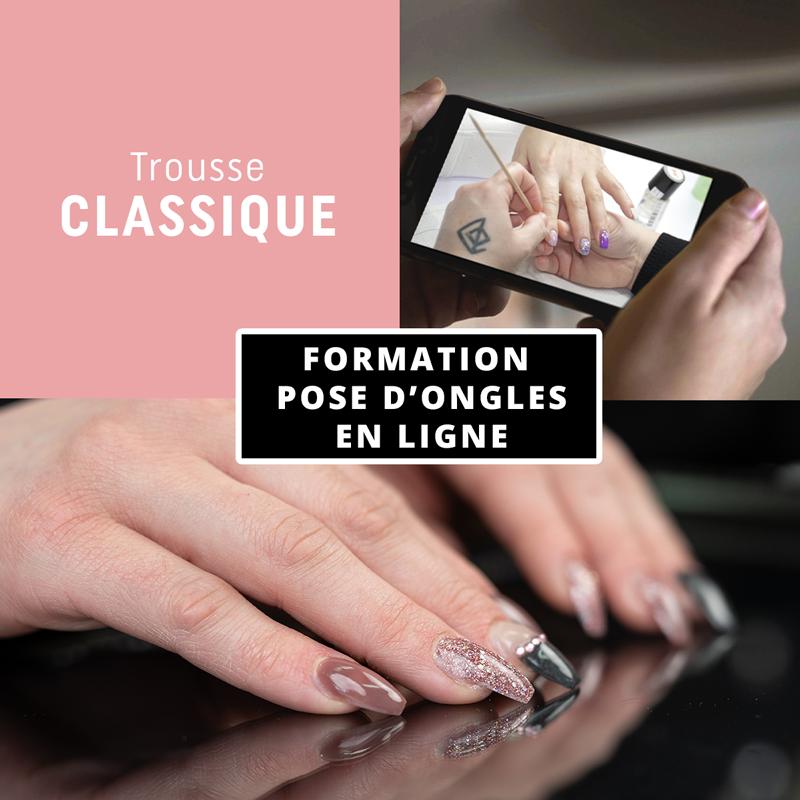 Formation en ligne - Pose d'ongles avec la trousse La Classique