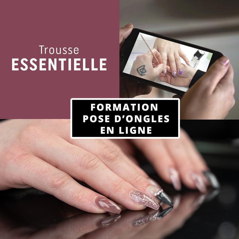 Formation en ligne - Pose d'ongles avec la trousse L'essentielle