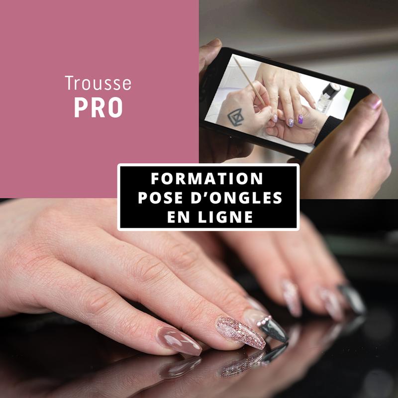 Formation en ligne - Pose d'ongles avec la trousse La Pro