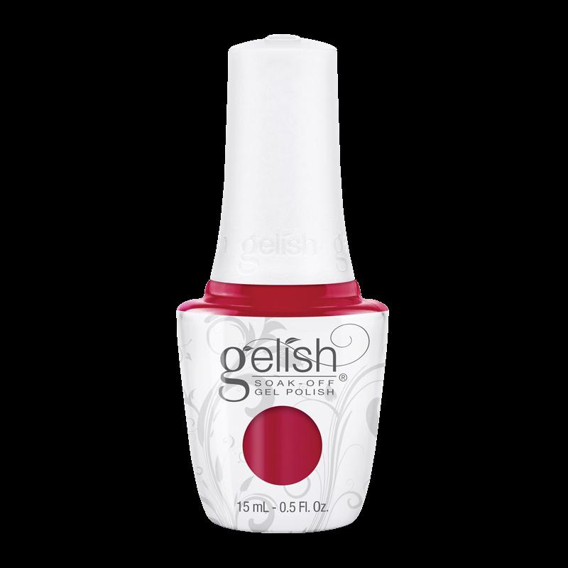 Gelish Gel Polish Hot Rod Red 15mL