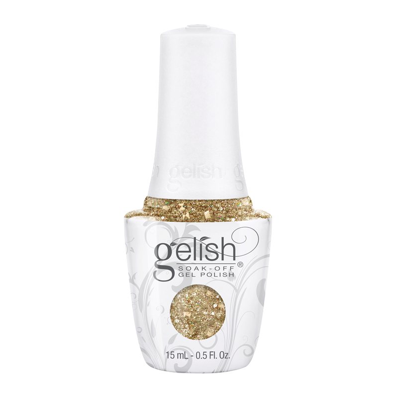 Gelish Gel Polish All That Glitters Is Gold 15mL