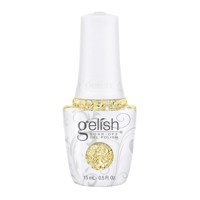 Gelish Gel Polish Ice Cold Gold 15 mL