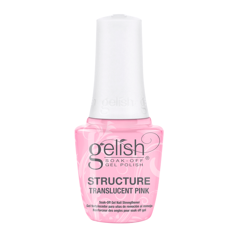 Gelish Structure Translucent Pink Soak Off Gel Nail Strength