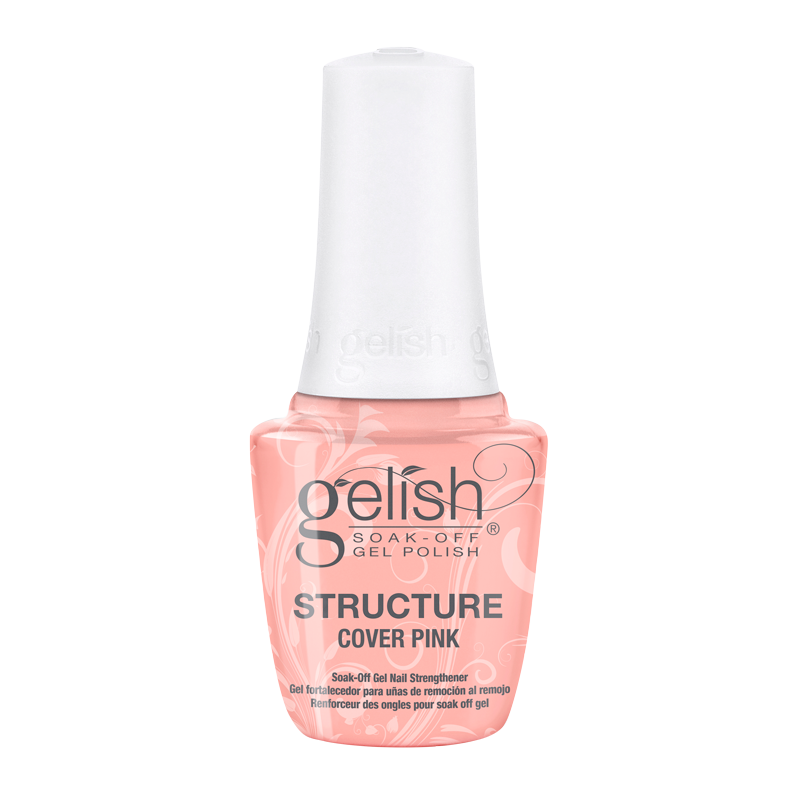 Gelish Structure Cover Pink Soak Off Gel Nail Strengthener