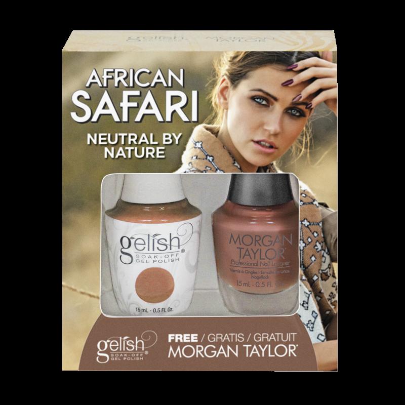 Gelish Gel Polish + Morgan Taylor Neutral by Nature 15 mL
