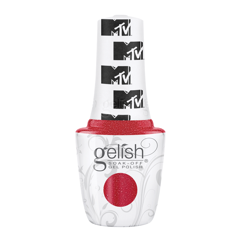 Gelish Gel Polish Total Request Red 15mL