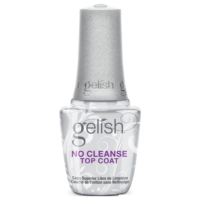 Gelish No Cleanse Top Coat - Finition UV/LED sans Nettoyage 15mL