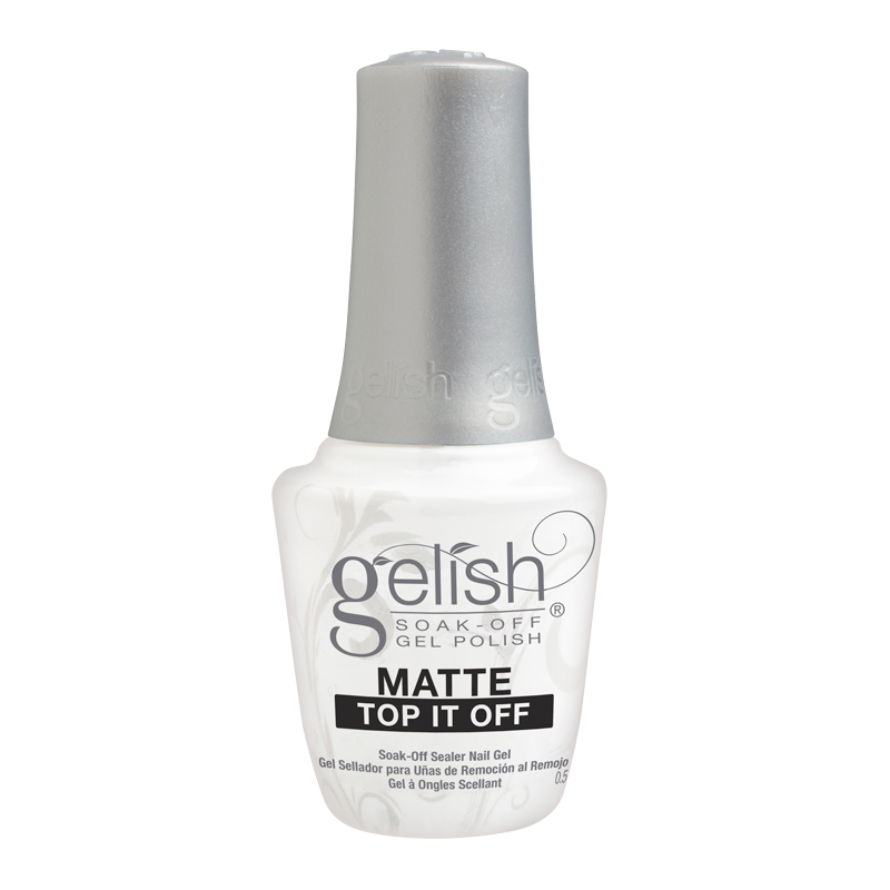 Gelish Gel Polish Matte Top it Off Sealer Gel 15mL