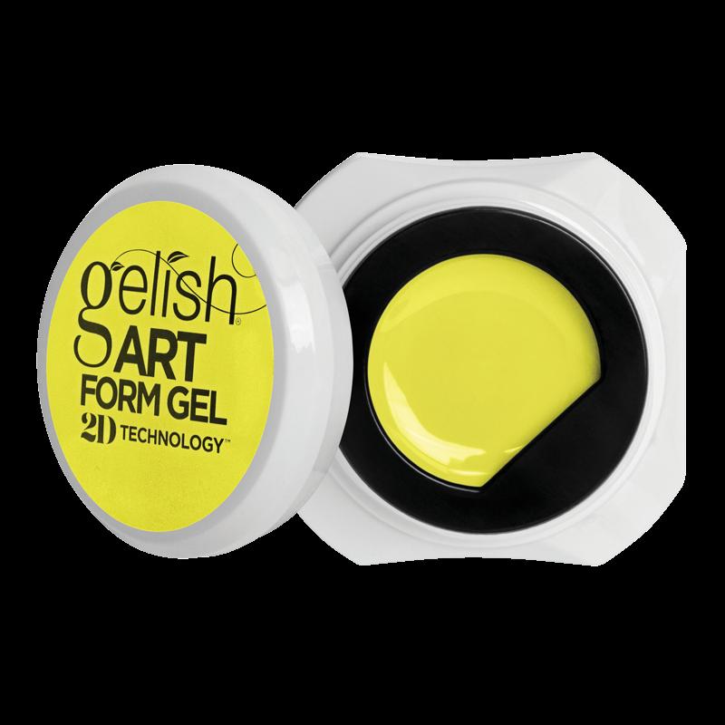 Gelish Art Form Gel - Essential Yellow 5g