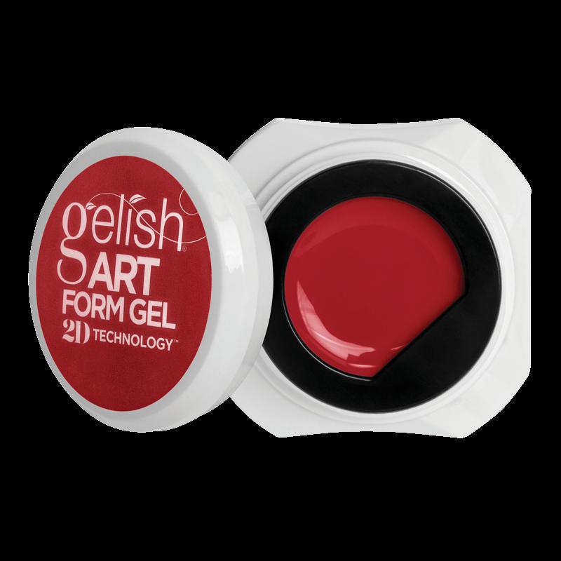 Gelish Art Form Gel - Essential Red 5g