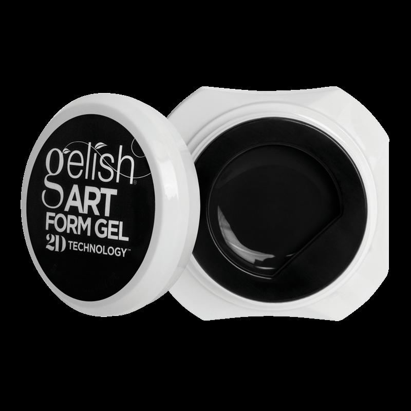 Gelish Art Form Gel - Essential Black 5g