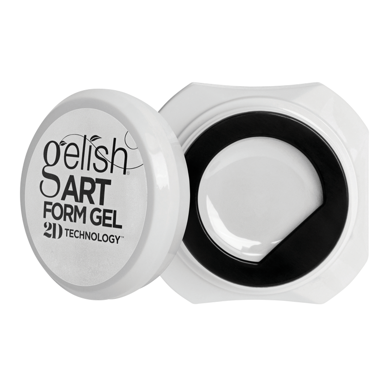 Gelish Art Form Gel - Essential White 5g