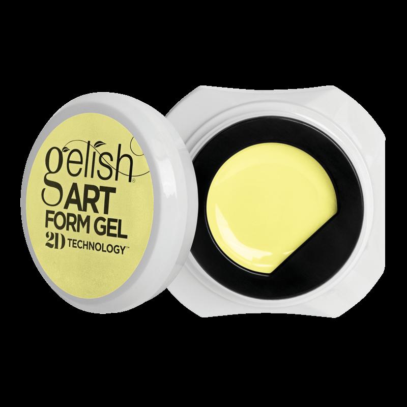Gelish Art Form Gel - Pastel Yellow 5g