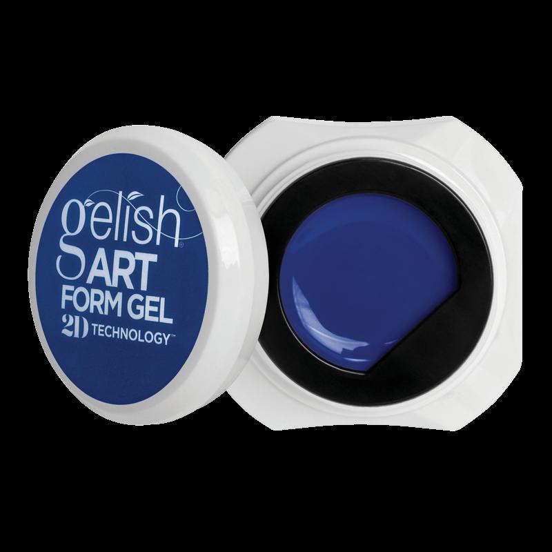 Gelish Art Form Gel - Neon Blue 5g
