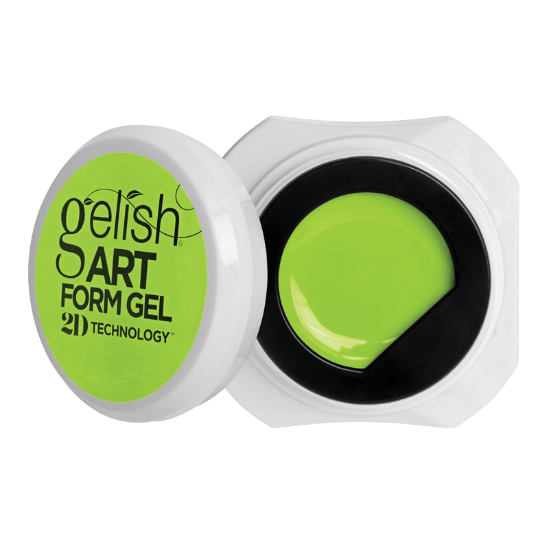 Gelish Art Form Gel - Neon Yellow 5g