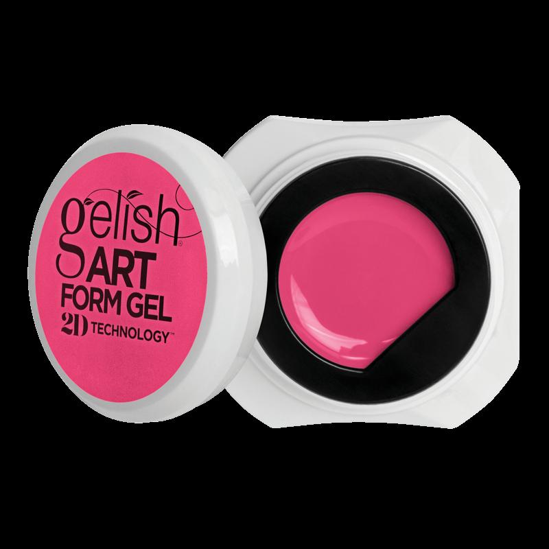 Gelish Art Form Gel - Neon Pink 5g