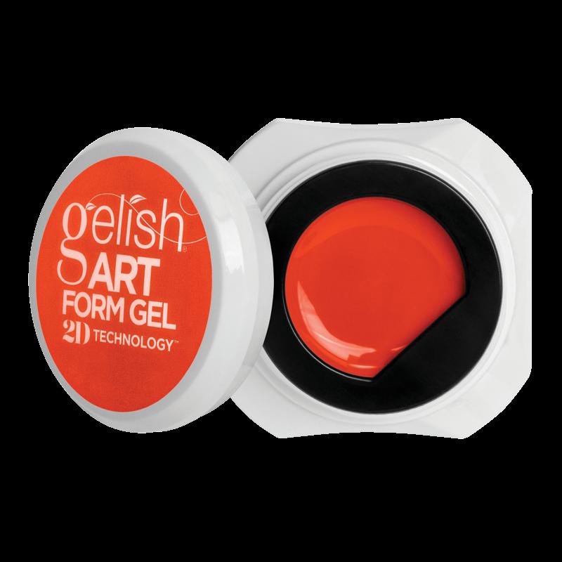 Gelish Art Form Gel - Neon Orange 5g