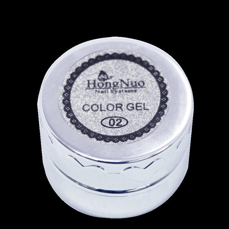 Line Drawing UV/LED Gel #02 Silver 8mL (Hong Nuo)