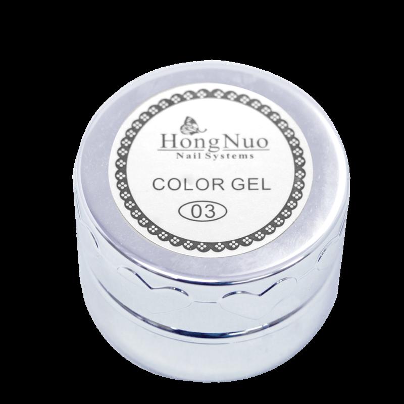 Line Drawing UV/LED Gel #03 White 8mL (Hong Nuo)