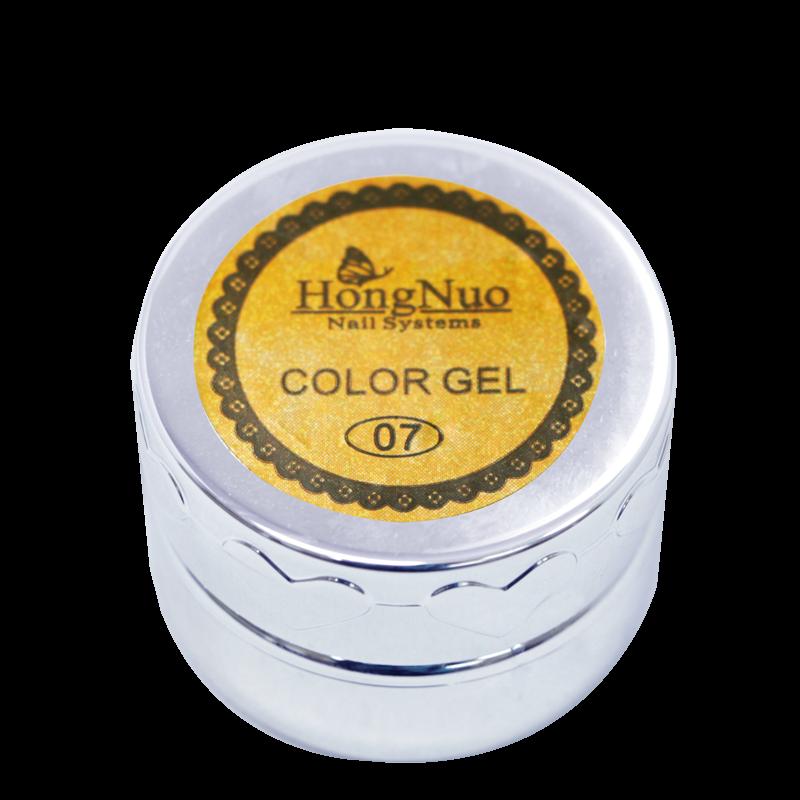 Line Drawing UV/LED Gel #07 Gold 8mL (Hong Nuo)
