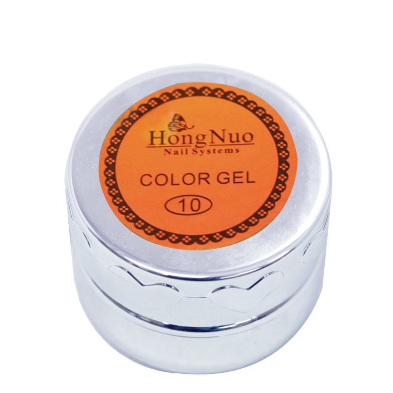 Line Drawing UV/LED Gel #10 Orange 8mL (Hong Nuo)