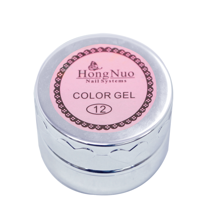 Line Drawing UV/LED Gel #12 Pink 8mL (Hong Nuo)