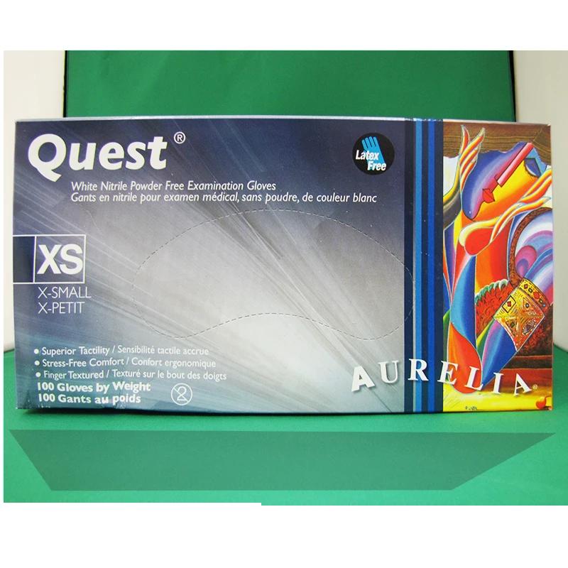 Gants Nitrile Aurelia Quest Sans Poudre X-S (Unité) 92895