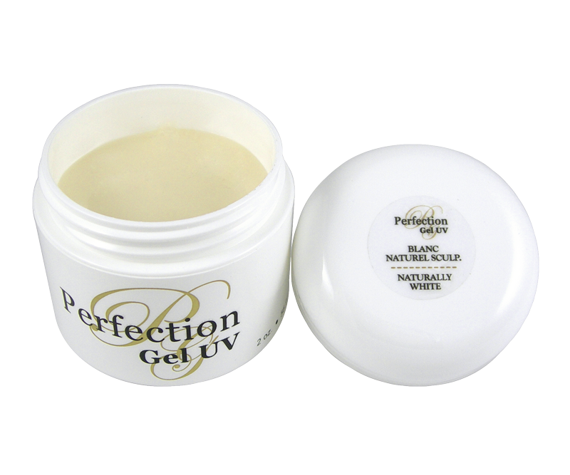 UV Sculpting Gel Perfection Naturally White 2 oz