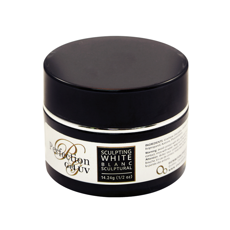 Perfection UV Sculpting Gel Naturaly White 1/2 oz