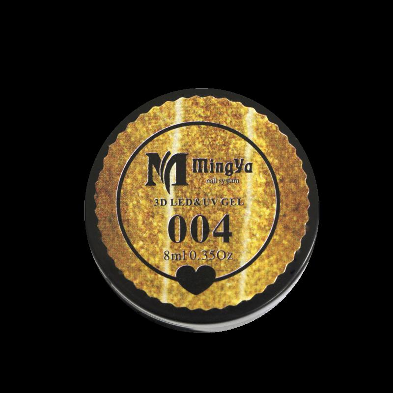 UV/LED Gel Paint #004 Gold (MingYa)