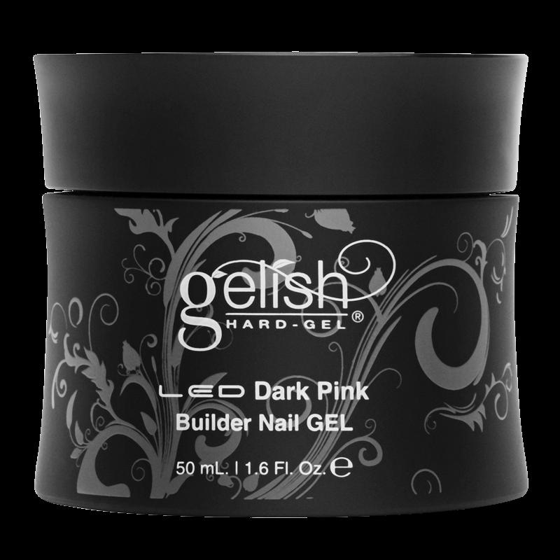 Gelish Hard Gel Dark Pink Builder Gel 50mL