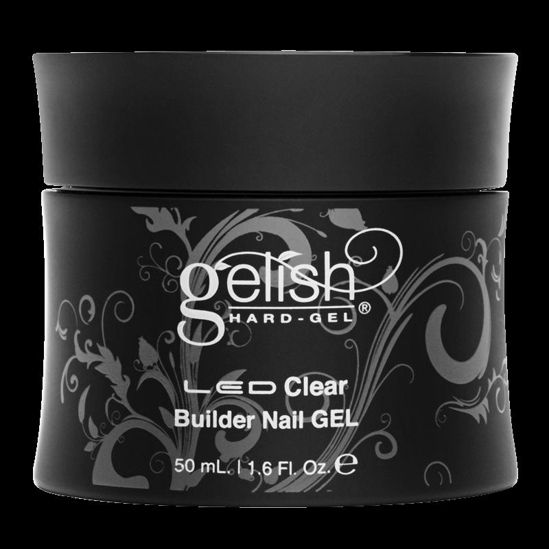 Gelish Hard Gel Clear Builder Gel 50mL