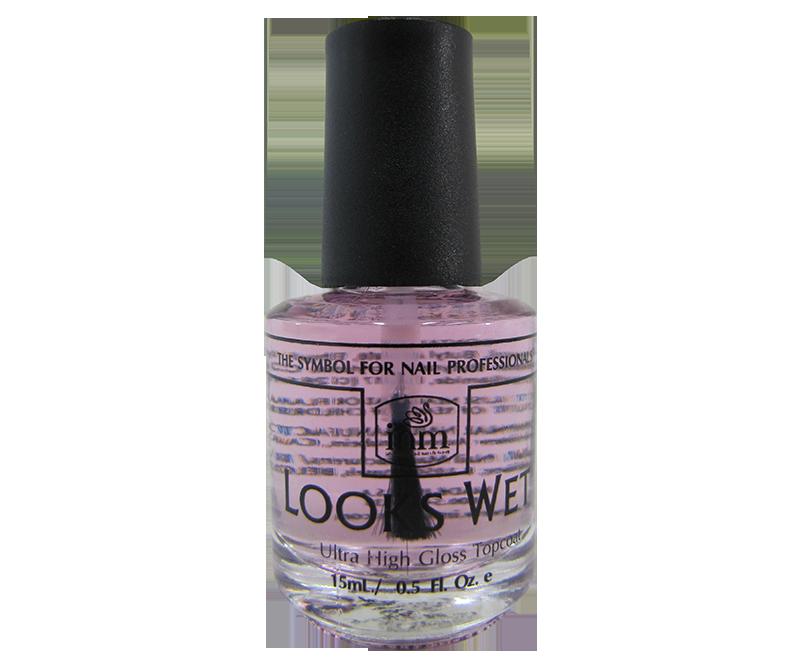 INM Looks Wet Ultra High Gloss Top Coat 1/2 oz