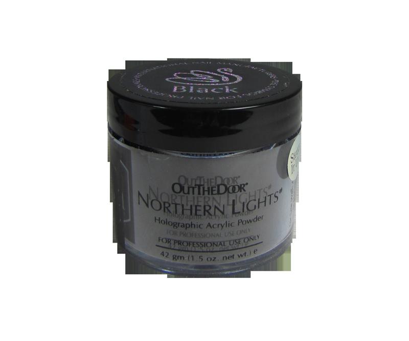 INM Poudre Northern Light Holographic Black 1.5oz (INMNLABK1)